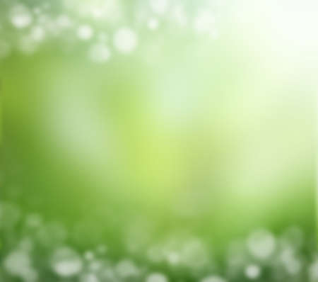 selective: natural green background with selective focus Stock Photo