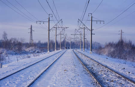 electrify: Electric power lines and railway tracks
