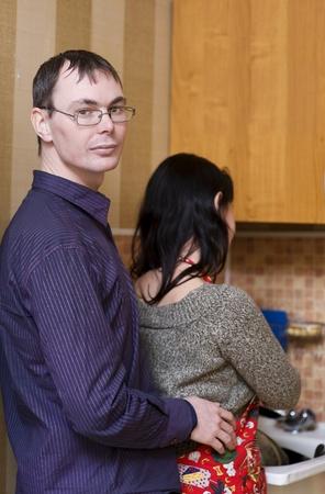 Caring husband   photo