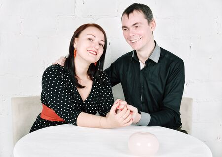 Happy smiling man and woman Stock Photo - 17603760