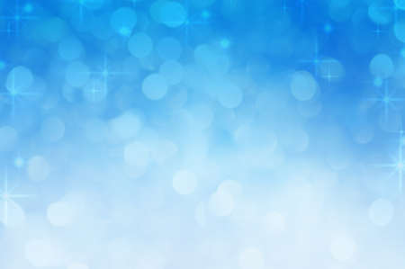 Abstract blurred blue bokeh background Stock Photo - 23811887