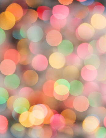 diffused: Colorful abstract bokeh background with color lights