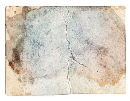 textura: Textura colorida foto vieja con manchas y ara�azos aislados Foto de archivo