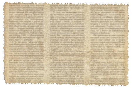 Vintage paper with old newspaper texture background