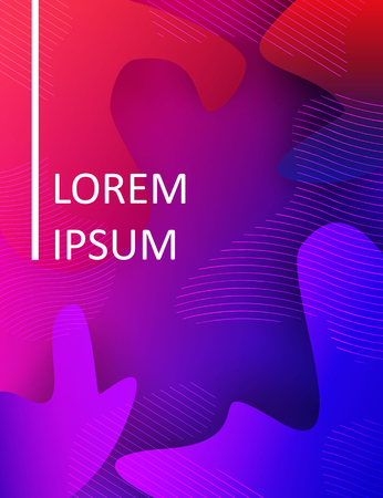 Abstract fluid liquid modern dynamic motion background. Vector illustration