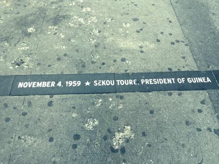 newyork: Historical on the sidewalk