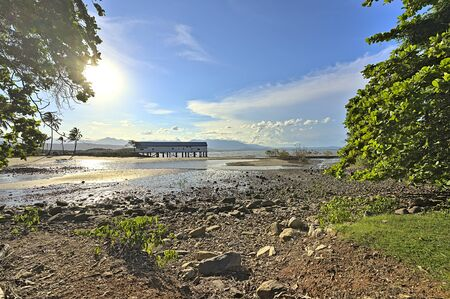 The Sugar Wharf in Port Douglas on the East coast of Australia during daytime