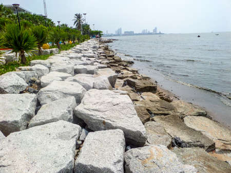 coastal erosion: Coast barrier