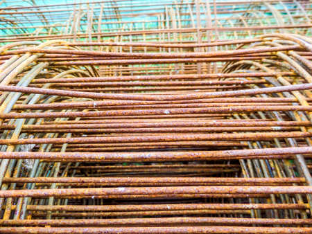 buildingsite: Wire Mesh use to construction