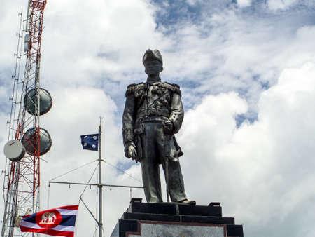 airwaves: Prince Chumphon Veterans Memorial Shrine at Pratumnak hill pattaya city Editorial
