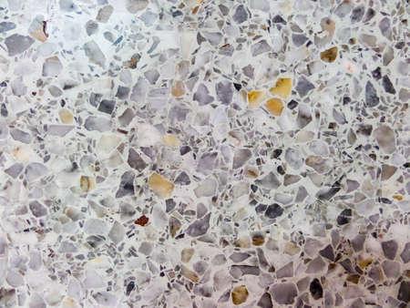 light complexion: white marble floor in Wat pra chum kong kha Banglamung Stock Photo