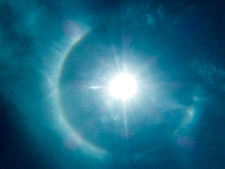 god bless: God bless sun and light in the sky on summer