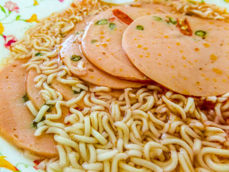bologna baloney: Spicy bologna with noodle amazing menu so tasty