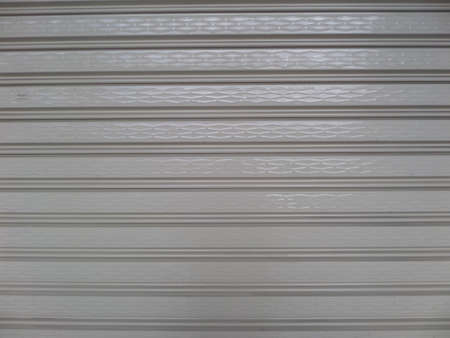 rolling garage door: Over view to roller shutter door background