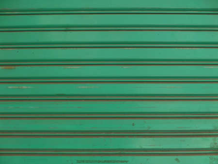 the shutter: Over view to roller shutter door background