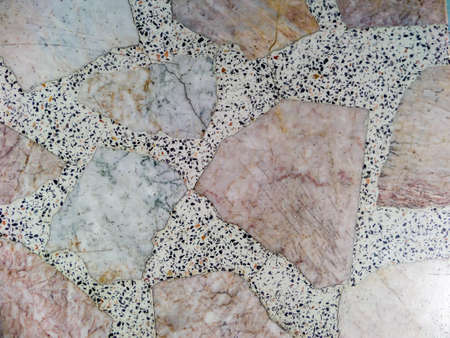 table surface: Surface of marble table at outdoor in garden
