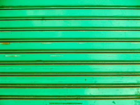 shutter door: Over view to roller shutter door background