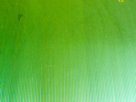 polycarbonate: Roof polycarbonate light green color background Stock Photo
