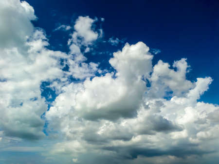 light complexion: Blue sky white cloud moving and sun shine