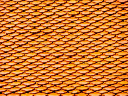 Roof horizental line pattern texture at buddha temple