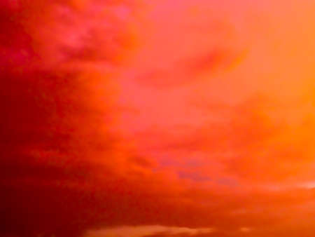 dramatic characters: Factastic abstract red color of twilight cloud and sky