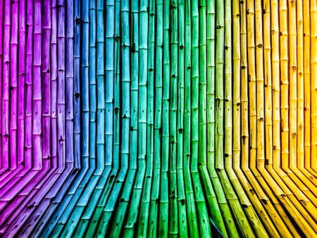 temperament: bamboo fence vintage gradient background wallpaper from nature