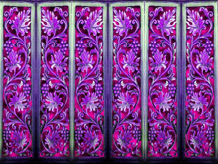 temperament: room partition art wood vintage purple abstract and wood art  background