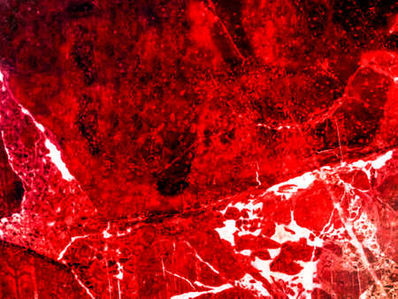 blood ruby luxury marble and crack on surface