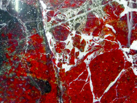 dark red blood marble and white line on surface