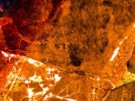 orange carrot dark luxury marble crack on surface