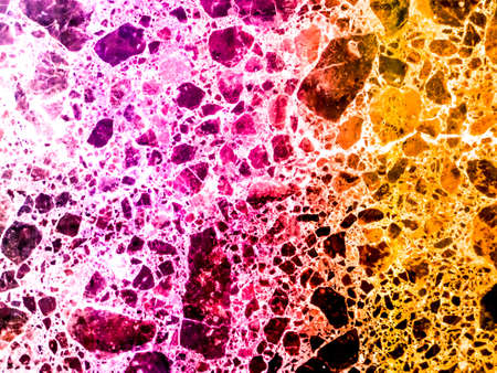 marble granite pink orange colorful explosion of dimension inside texture stone