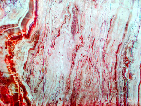 marble soft red color jewel river line left hand texture background