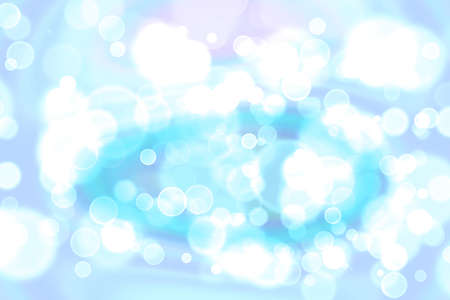 white blue bubble divine dimension bokeh blur absract background