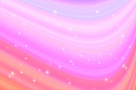 colorful line curve star and pink abstract background Imagens