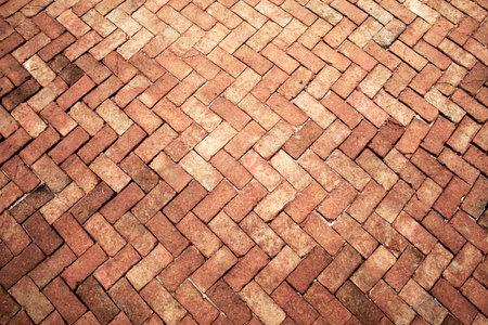 Ancient of light rose tone brick floor pavement stones luxury wall tile interiors