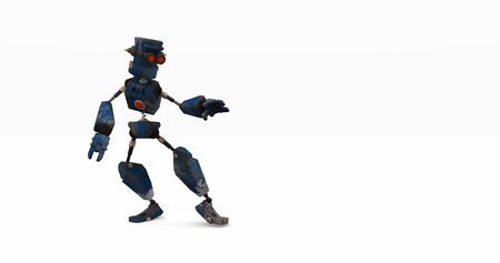 cyber warfare: robot