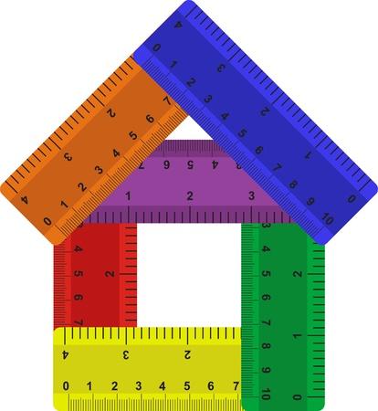 width: Rulers Illustration