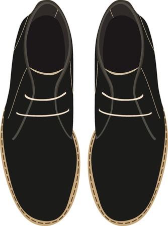 men's shoes: Men s shoes  Vector illustration