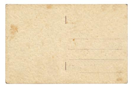 Unwritten postcard from around 1900 Stock Photo