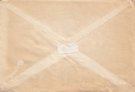 Image of very old envelope Stock Photo