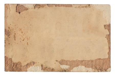 Damaged antique paper Stock Photo