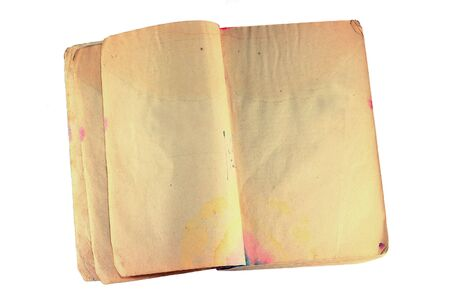 Vintage book with stained pages Stock Photo - 19481067