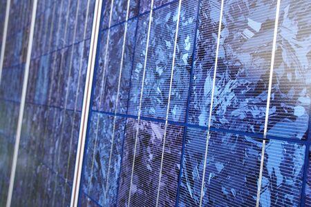 Close view of solar panel. Reklamní fotografie