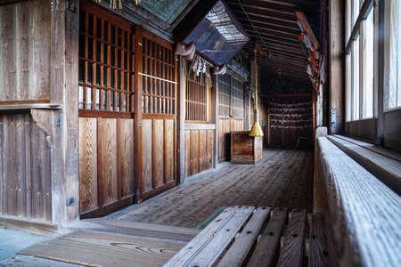 Japanese shinto shrine entrance