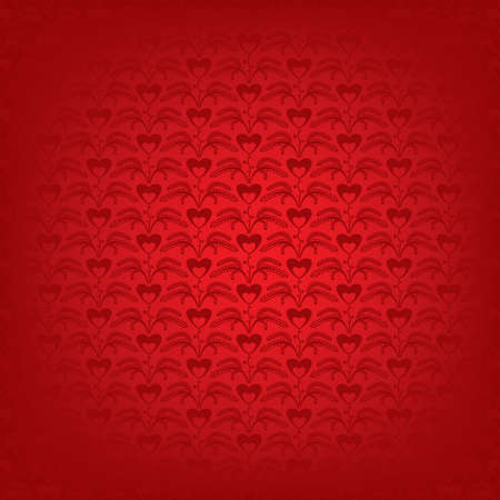 seamless pattern with a texture of the small hearts Stock Vector - 12042294