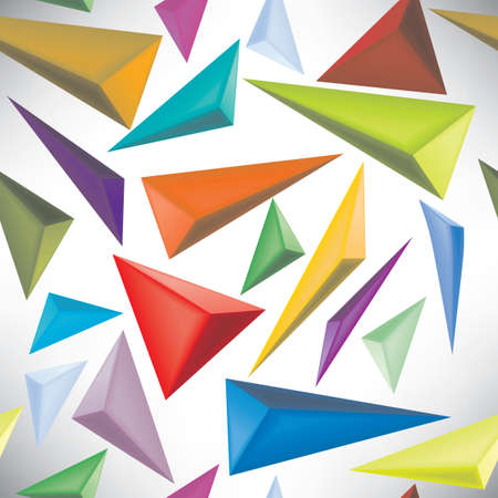 seamless pattern abstract triangles