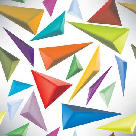 poligonos: tri�ngulos sin costura de patrones abstractos