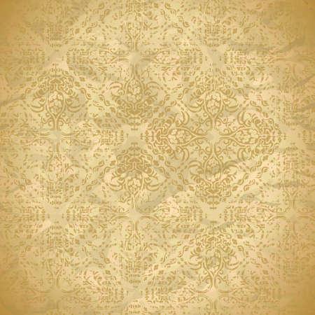 vintage naadloze patroon met florale ornamenten