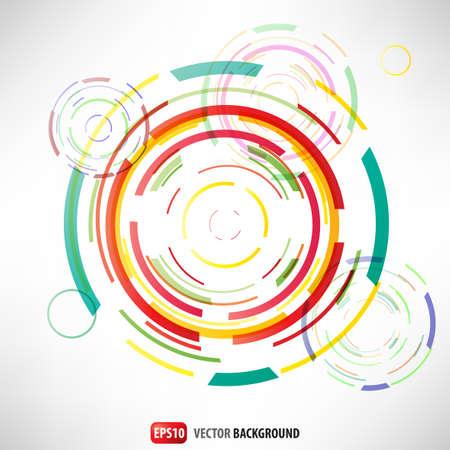 Abstract circles  Stock Vector - 13700323