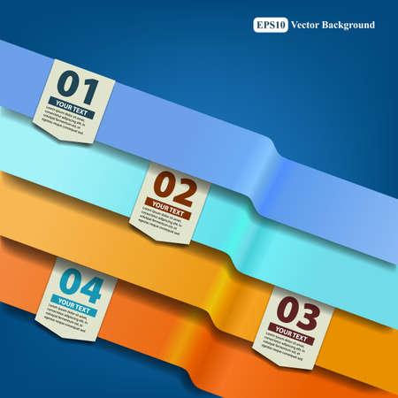 folleto: Infograf�a Dise�o de la plantilla Vectores
